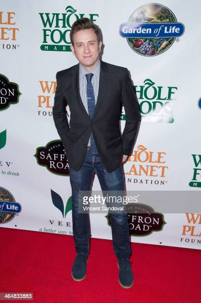 Actor Tom Lenk attends the Whole Planet Foundation's PreGRAMMY event at Village Recorder Studios on January 23 2014 in Los Angeles California
