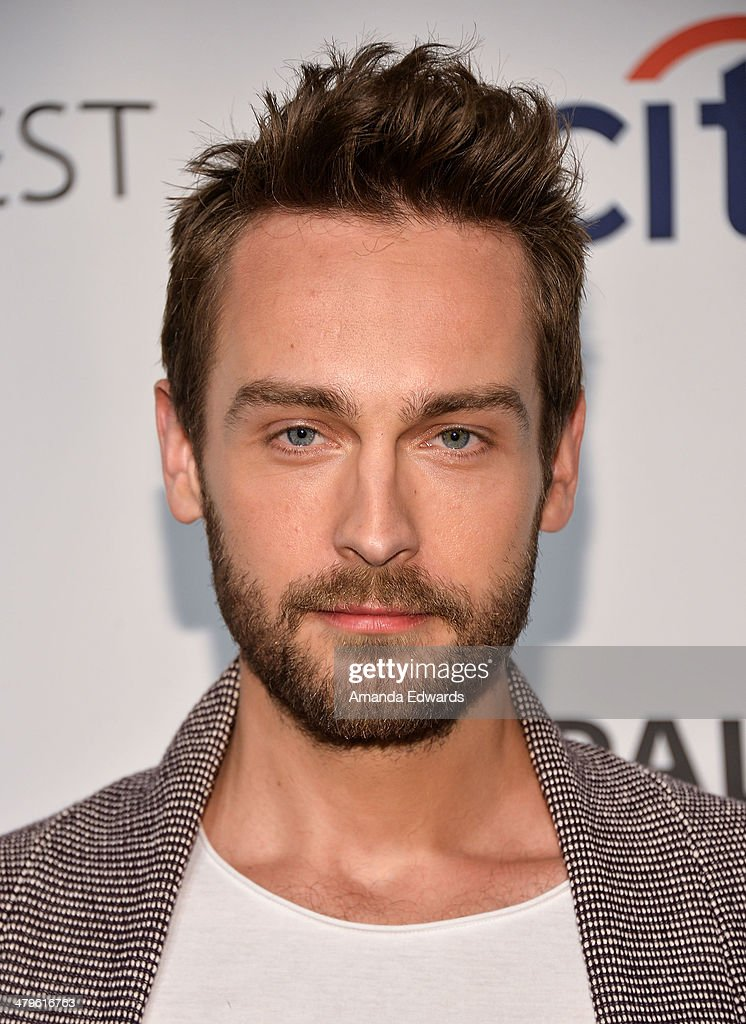 Actor Tom Mison arrives at the 2014 PaleyFest - 'Sleepy Hollow' event at The Dolby Theatre on March 19, 2014 in Hollywood, California.