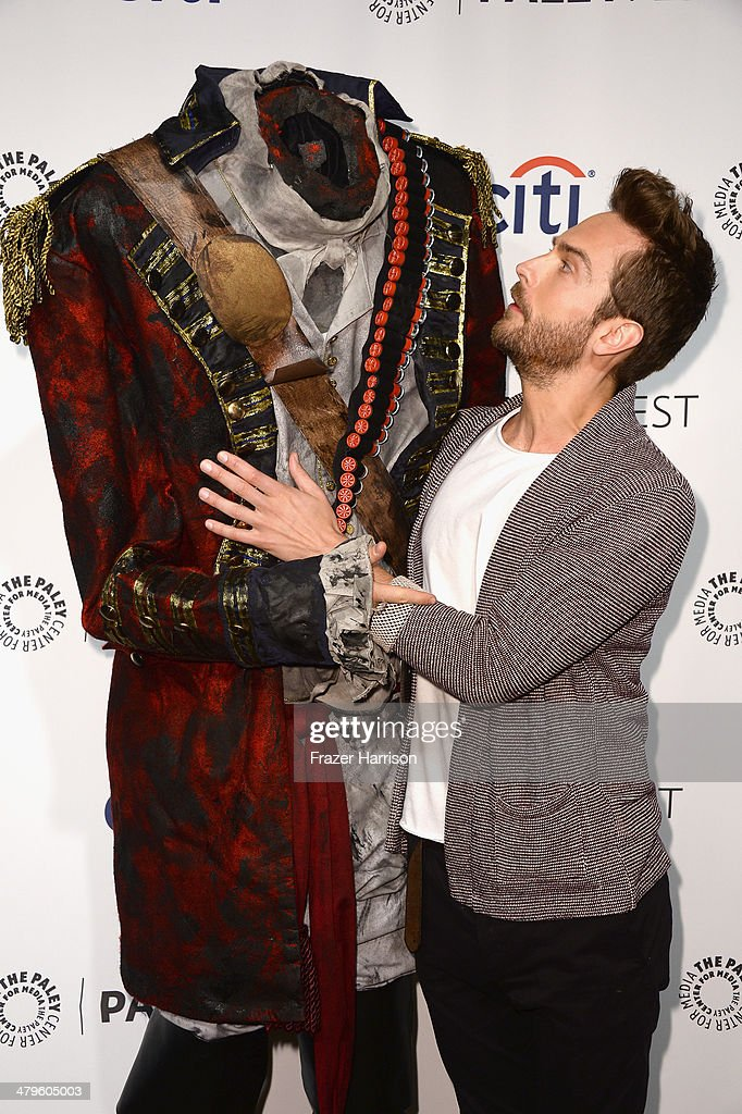 Actor Tom Mison arrives at The Paley Center for Media's PaleyFest 2014 Honoring 'Sleepy Hollow' at Dolby Theatre on March 19, 2014 in Hollywood, California.