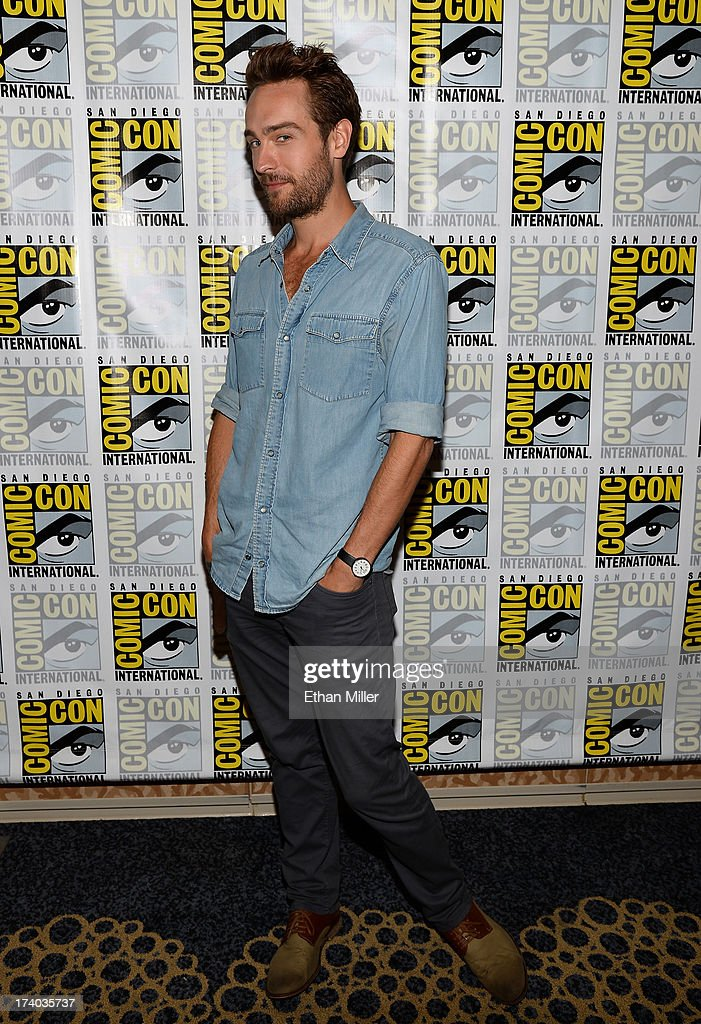 Actor Tom Mison attends the 'Sleepy Hollow' press line during Comic-Con International 2013 at the Hilton San Diego Bayfront Hotel on July 19, 2013 in San Diego, California.
