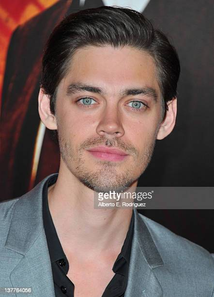 Actor Tom Payne arrives to the premiere of HBO's new series 'Luck' at Grauman's Chinese Theatre on January 25 2012 in Hollywood California