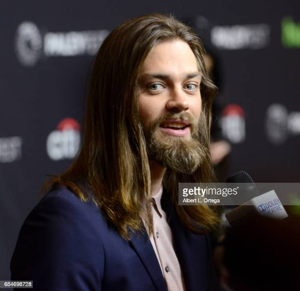 Actor Tom Payne at The Paley Center For Media's 34th Annual PaleyFest Los Angeles Opening Night Presentation 'The Walking Dead' held at Dolby Theatre...
