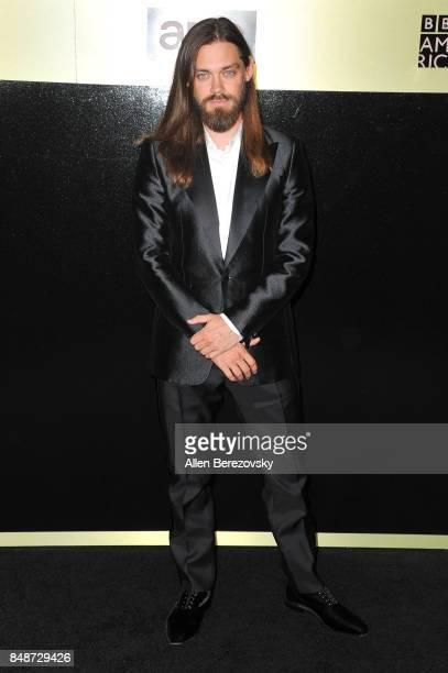 Actor Tom Payne attends AMC Networks 69th Primetime Emmy Awards after party celebration at BOA Steakhouse on September 17 2017 in West Hollywood...