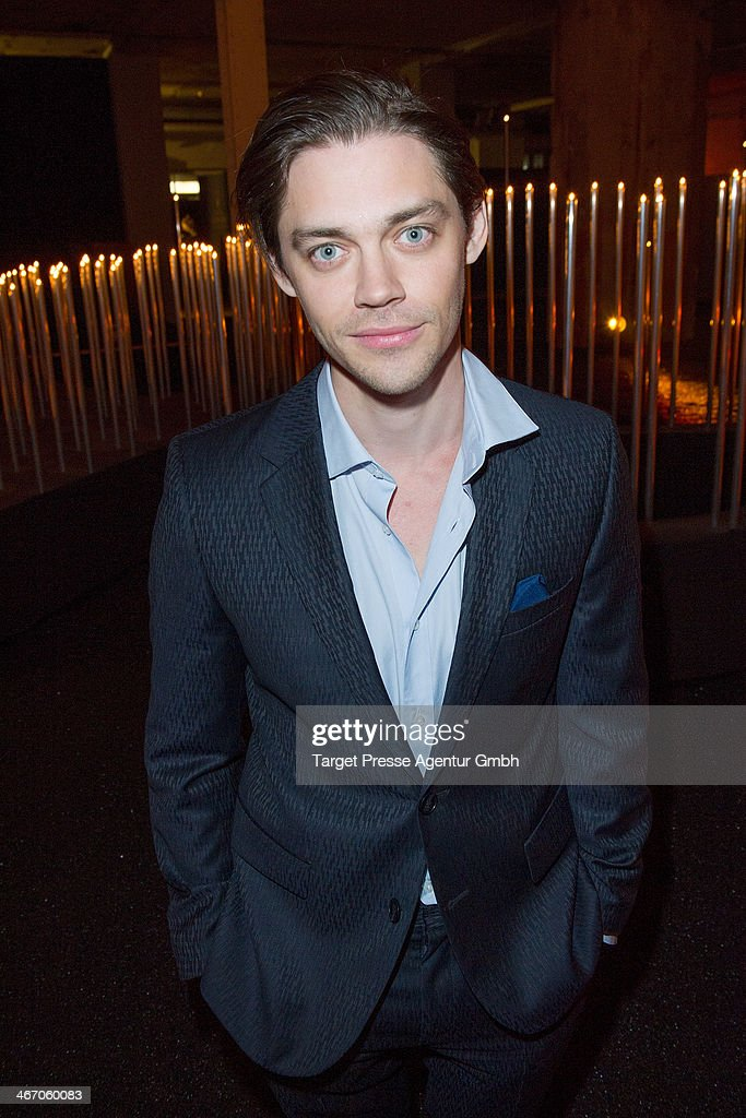 Actor Tom Payne attends the Moet & Chandon Grand Scores at Kaufhaus Jandorf on February 5, 2014 in Berlin, Germany.