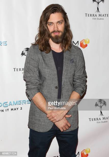 Actor Tom Payne attends the premiere for 'MindGamers One Thousand Minds Connected Live' at Regal LA Live Stadium 14 on March 28 2017 in Los Angeles...