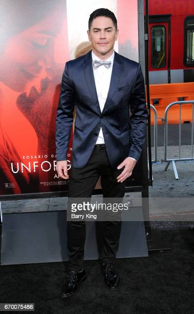 Actor Tom Sandoval attends premiere of Warner Bros Pictures' 'Unforgettable' at TCL Chinese Theatre on April 18 2017 in Hollywood California