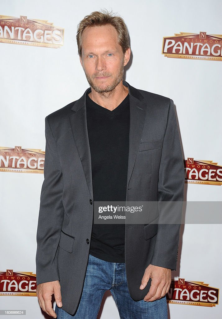 Actor Tom Schanley arrrives at the opening night for 'War Horse' at the Pantages Theatre on October 8, 2013 in Hollywood, California.