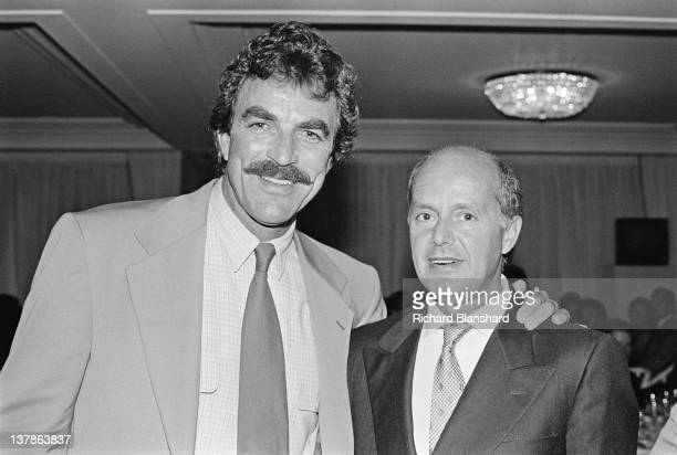 Actor Tom Selleck at the Cannes Film Festival France May 1984