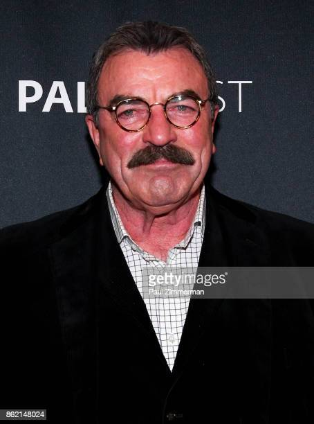 Actor Tom Selleck attends PaleyFest NY 2017 'Blue Bloods' at The Paley Center for Media on October 16 2017 in New York City