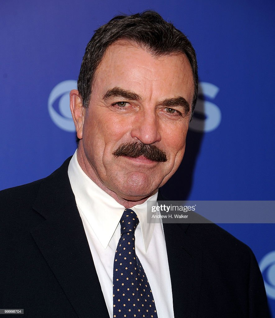 Actor Tom Selleck attends the 2010 CBS UpFront at Damrosch Park, Lincoln Center on May 19, 2010 in New York City.