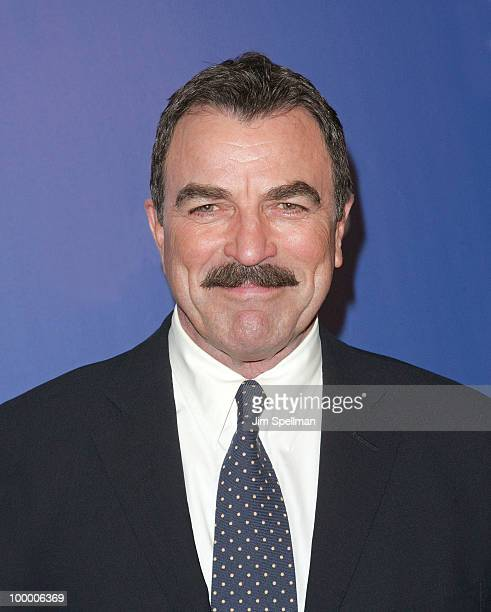 Actor Tom Selleck attends the 2010 CBS Upfront at The Tent at Lincoln Center on May 19 2010 in New York City