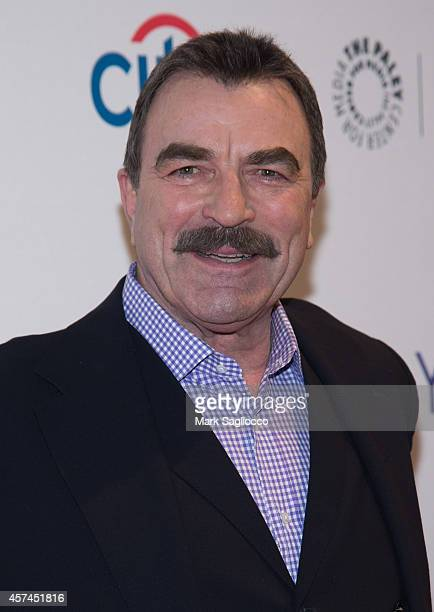 Actor Tom Selleck attends the 2nd Annual Paleyfest of 'Blue Bloods' at the Paley Center For Media on October 18 2014 in New York New York