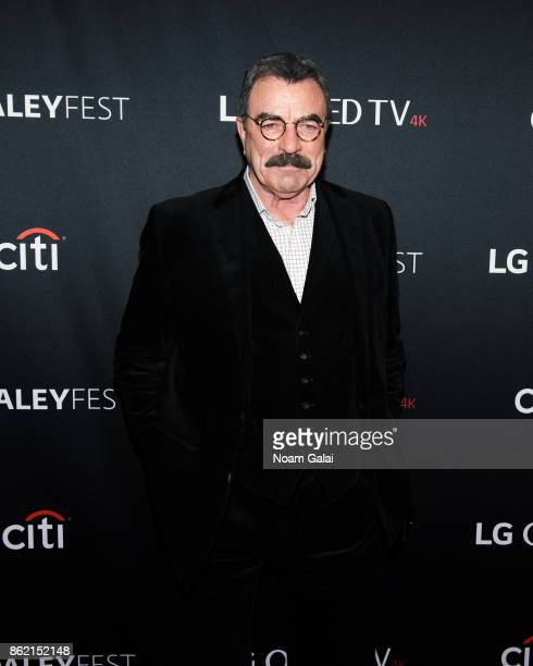 Actor Tom Selleck attends the 'Blue Bloods' screening during PaleyFest NY 2017 at The Paley Center for Media on October 16 2017 in New York City