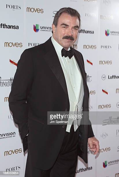 Actor Tom Selleck attends the New York Moves Magazine's 10th Anniversary Power Women Gala at the Grand Hyatt New York on November 14 2013 in New York...