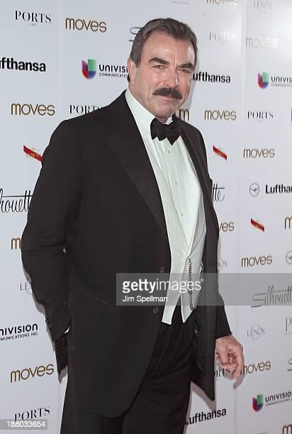 Actor Tom Selleck attends the New York Moves Magazine's 10th Anniversary Power Women Gala at the Grand Hyatt New York on November 14 2013 in New York...