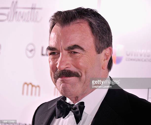 Actor Tom Selleck attends the PowerWomen 2013 awards on November 14 2013 in New York City