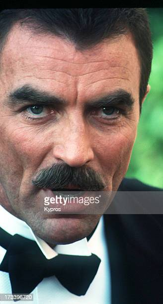 Actor Tom Selleck circa 1992