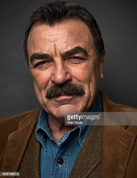 Actor Tom Selleck is photographed for SAG Foundation on September 29 in New York City