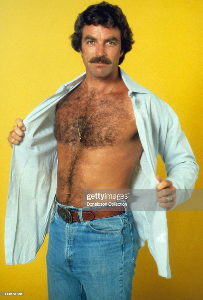 Actor Tom Selleck poses for a portrait in 1980 in Los Angeles, California.