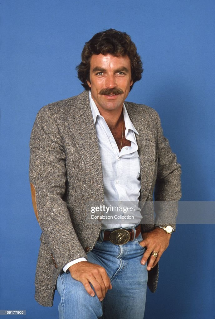 Actor <a gi-track='captionPersonalityLinkClicked' href=/galleries/search?phrase=Tom+Selleck&family=editorial&specificpeople=208627 ng-click='$event.stopPropagation()'>Tom Selleck</a> poses for a portrait in 1980 in Los Angeles, California.
