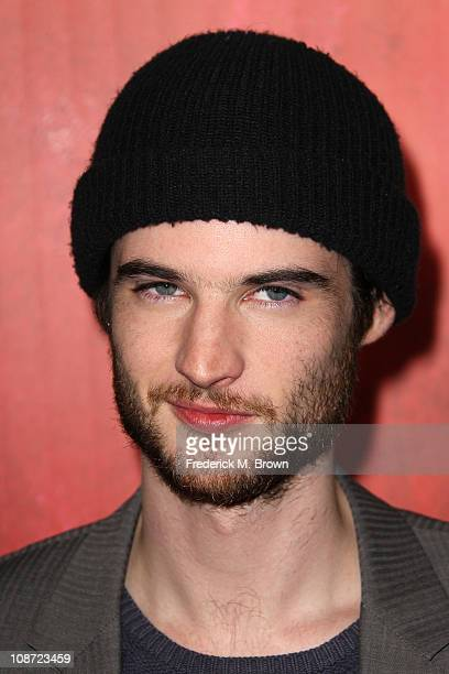 Actor Tom Sturridge attends the premiere of 'Waiting For Forever' at The Pacific Theatres at the Grove on February 1 2011 in Los Angeles California