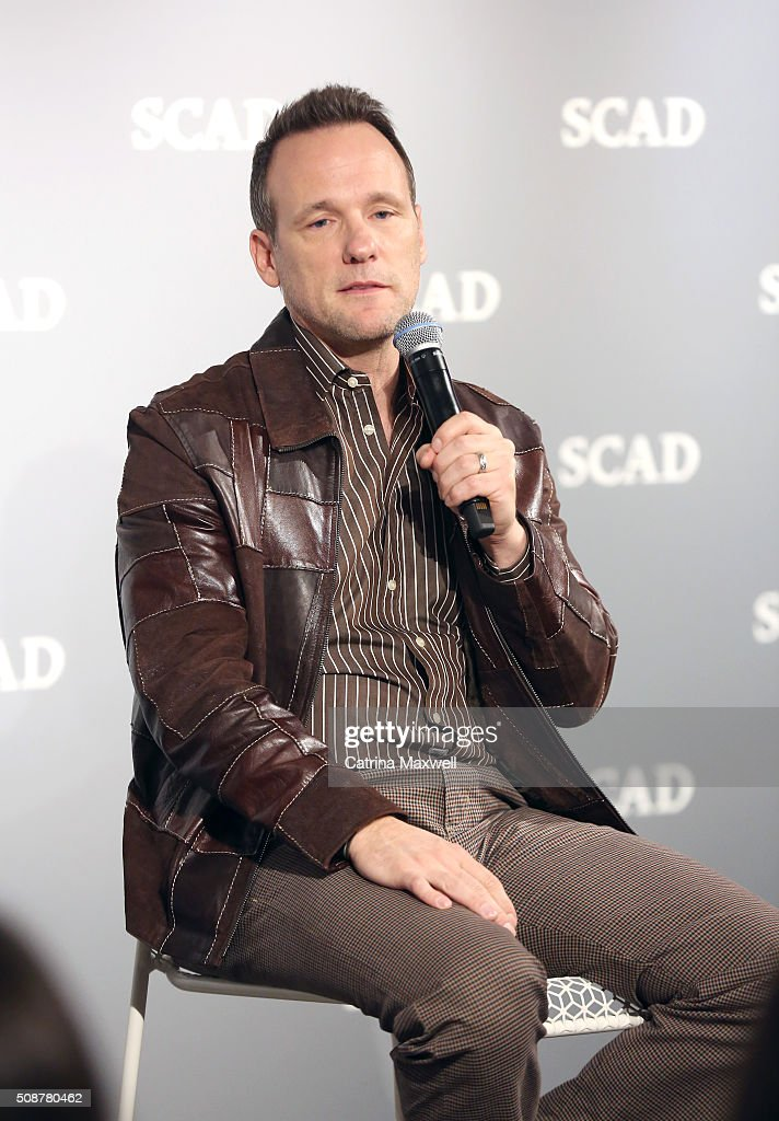 Actor Tom Verica speaks on stage as part of 'Behind The Lens: ShondaLand' panel during aTVfest 2016 presented by SCAD on February 6, 2016 in Atlanta, Georgia.