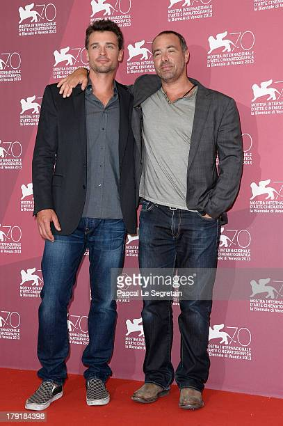 Actor Tom Welling and director Peter Landesman attend the 'Parkland' photocall during the 70th Venice International Film Festival at the Palazzo del...
