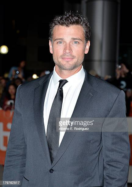Actor Tom Welling arrives at the 'Parkland' premiere during the 2013 Toronto International Film Festival at Roy Thomson Hall on September 6 2013 in...