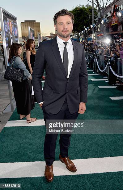 Actor Tom Welling attends Premiere Of Summit Entertainment's 'Draft Day' at Regency Bruin Theatre on April 7 2014 in Los Angeles California