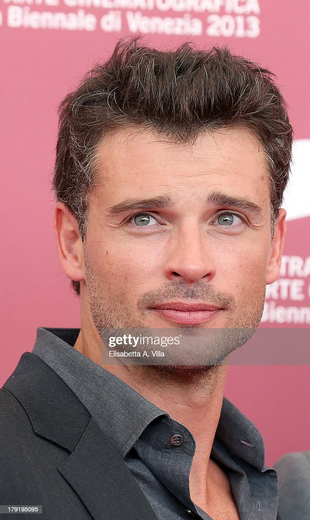Actor <a gi-track='captionPersonalityLinkClicked' href=/galleries/search?phrase=Tom+Welling&family=editorial&specificpeople=631434 ng-click='$event.stopPropagation()'>Tom Welling</a> attends the 'Parkland' photocall during the 70th Venice International Film Festival at the Palazzo del Casino on September 1, 2013 in Venice, Italy.