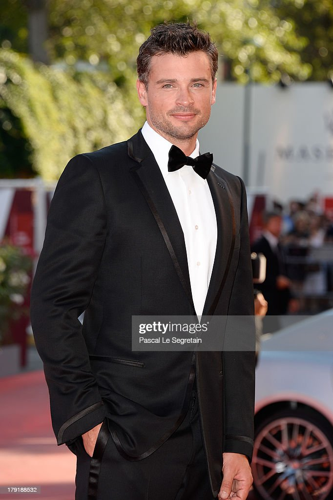 Actor <a gi-track='captionPersonalityLinkClicked' href=/galleries/search?phrase=Tom+Welling&family=editorial&specificpeople=631434 ng-click='$event.stopPropagation()'>Tom Welling</a> attends the 'Parkland' Premiere during the 70th Venice International Film Festival at the Palazzo Del Cinema on September 1, 2013 in Venice, Italy.