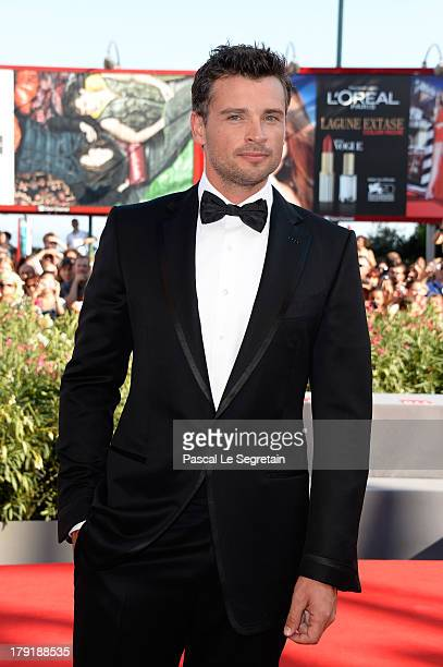 Actor Tom Welling attends the 'Parkland' Premiere during the 70th Venice International Film Festival at the Palazzo Del Cinema on September 1 2013 in...