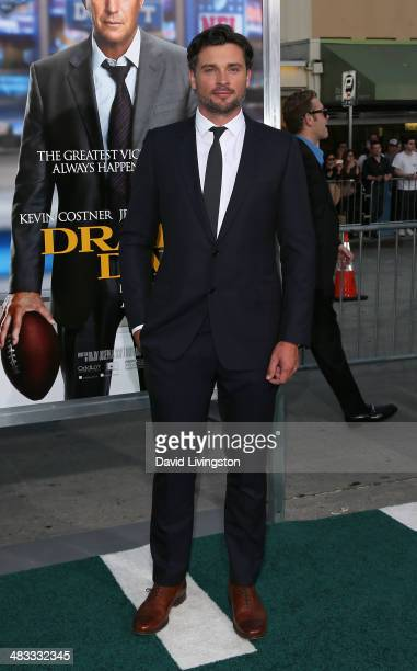 Actor Tom Welling attends the premiere of Summit Entertainment's 'Draft Day' at the Regency Village Theatre on April 7 2014 in Los Angeles California