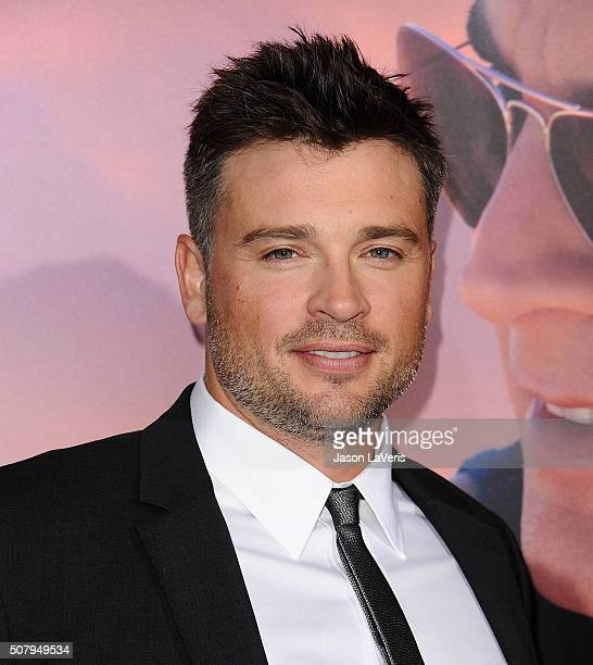 Actor Tom Welling attends the premiere of 'The Choice' at ArcLight Cinemas on February 1 2016 in Hollywood California