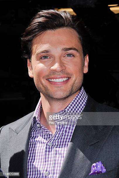 Actor Tom Welling leaves the 'Live With Regis And Kelly' taping at the ABC Lincoln Center Studios on May 6 2011 in New York City