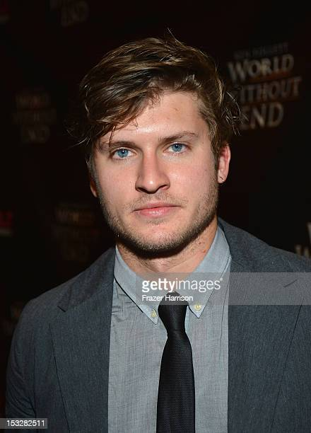 Actor Tom WestonJones attends the screening of 'World Without End' presented by ReelzChannel at The Grove on October 2 2012 in Los Angeles California