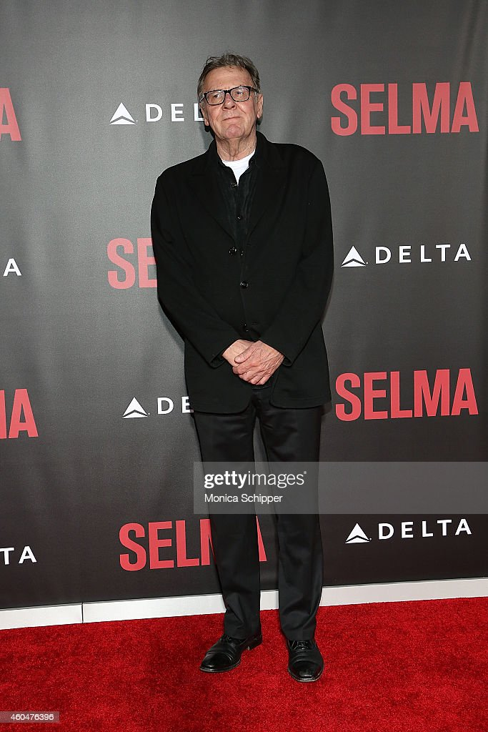 Actor Tom Wilkinson attends 'Selma' New York Premiere - Inside Arrivals at Ziegfeld Theater on December 14, 2014 in New York City.