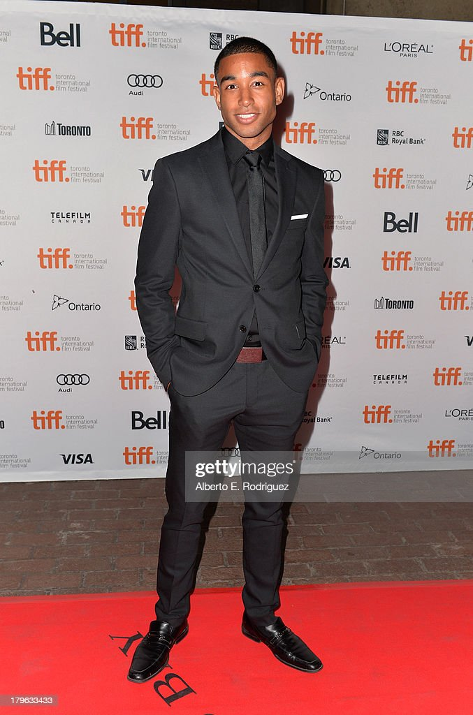 Actor Tom Williamson arrives at the 'All Cheerleaders Die' premiere during the 2013 Toronto International Film Festival at Ryerson Theatre on...