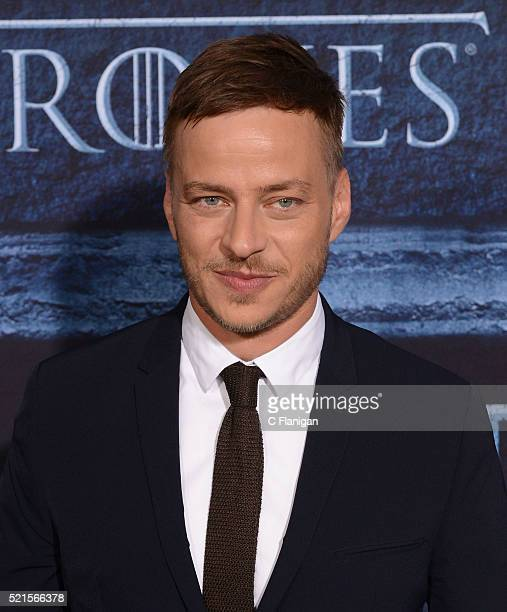 Actor Tom Wlaschiha arrives for the Premiere Of HBO's 'Game Of Thrones' Season 6 held at TCL Chinese Theatre on April 10 2016 in Hollywood California