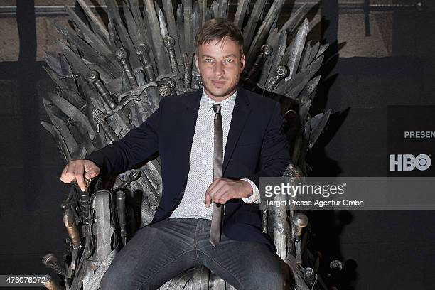 Actor Tom Wlaschiha attends the pre opening party of the exhibition 'Game of Thrones Die Ausstellung' on May 12 2015 in Berlin Germany