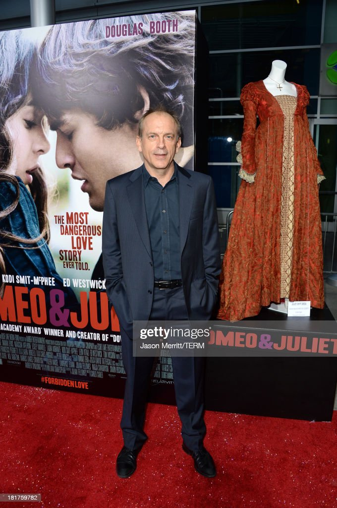 Actor Tomas Arana arrives at the premiere of Relativity Media's 'Romeo & Juliet' at ArcLight Hollywood on September 24, 2013 in Hollywood, California.