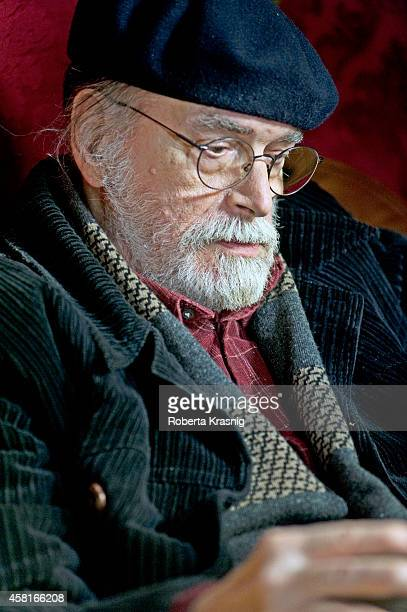 Actor Tomas Milian is photographed for Self Assignment on November 10 2009 in Rome Italy