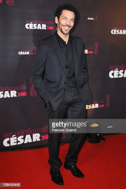 Actor Tomer Sisley arrives at the 36th French Cesar film awards ceremony at Theatre du Chatelet on February 25 2011 in Paris France