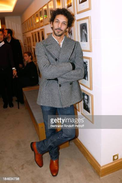 Actor Tomer Sisley attends Boucheron Hosts Hiroshi Sugimoto Exhibition Celebration at Place Vendome Boucheron shop on October 14 2013 in Paris France