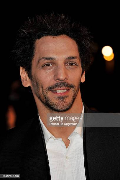 Actor Tomer Sisley attends the NRJ Music Awards 2011 on January 22 2011 at the Palais des Festivals et des Congres in Cannes France