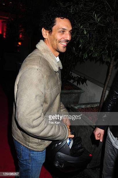 Actor Tomer Sisley attends the Poker Party at Le Cercle Cadet on November 22 2010 in Paris France