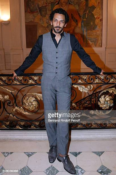 Actor Tomer Sisley attends the Tribute to Indian actor and director Kamal Haasan during the 'International meetings of the Heritage Cinema Henri...