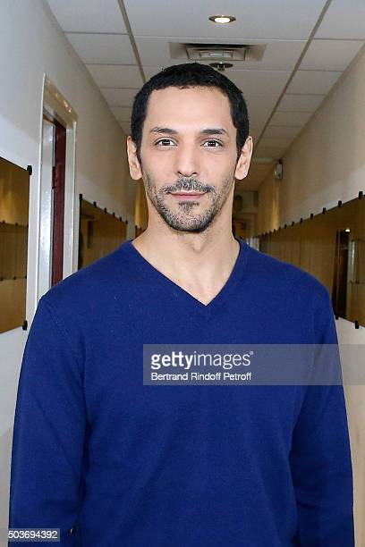 Actor Tomer Sisley presents the TV Movie 'Stavisky lescroc du siecle' during the 'Vivement Dimanche' French TV Show at Pavillon Gabriel on January 6...