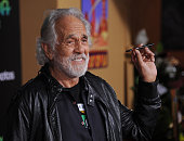 Actor Tommy Chong arrives at the premiere of Walt Disney Animation Studios' 'Zootopia' at the El Capitan Theatre on February 17 2016 in Hollywood...