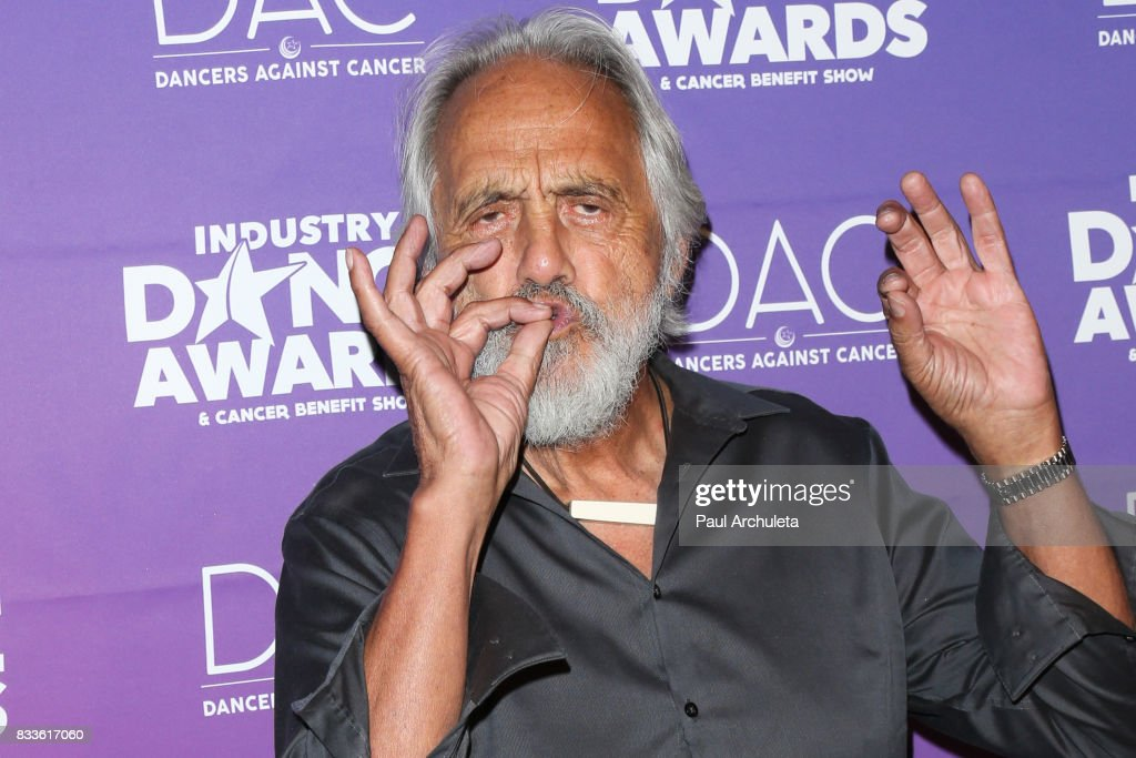Actor Tommy Chong attends the 2017 Industry Dance Awards and Cancer Benefit show at Avalon on August 16, 2017 in Hollywood, California.